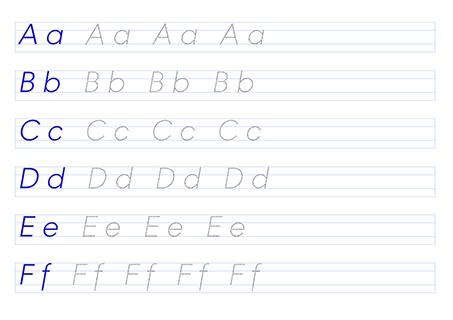 Generator Arkuszy Nauka Pisania Pismo Uproszczone Superkid