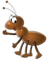 Znalezione obrazy dla zapytania mrówka rysunek