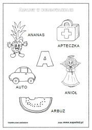 Litery I Głoski Superkid