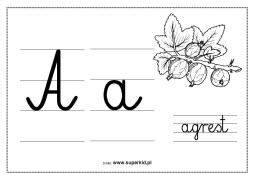 Alfabet Scienny Superkid