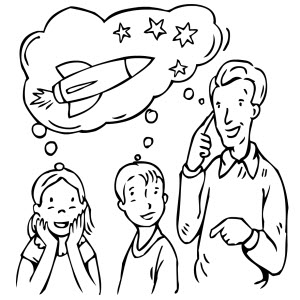 ćwiczenia Dzieci Pana Astronoma Superkid