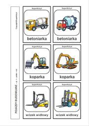 pojazdy budowlane