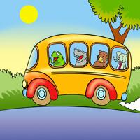 Znalezione obrazy dla zapytania wesoły autobus