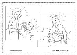 Kolorowanki Dzien Babci I Dziadka Superkid
