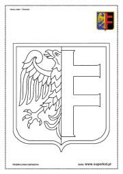 Kolorowanki - HERBY MIAST - SuperKid