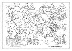 Kolorowanki Wiersze Marii Konopnickiej Superkid