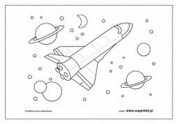 Kolorowanki Kosmos Superkid