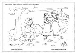 kolorowanki - Skamieniały Pielgrzym