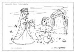 kolorowanki - Pierścień Św. Kingi