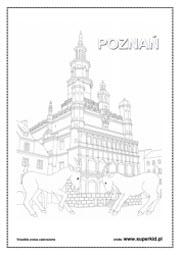 Kolorowanki Miasta Polski Superkid