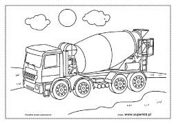Kolorowanki Srodki Transportu Superkid