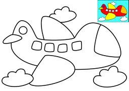 Znalezione obrazy dla zapytania kolorowanki dla 3 latka