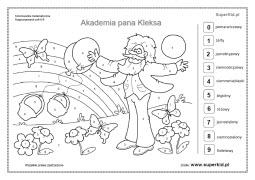 ćwiczenia Akademia Pana Kleksa Superkid