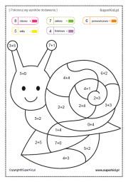 Kolorowanki Matematyczne Elementarzowe 16 30 Superkid